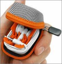 Funda para los auriculares del iPod