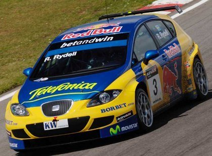 Rydell pole en Brands Hatch