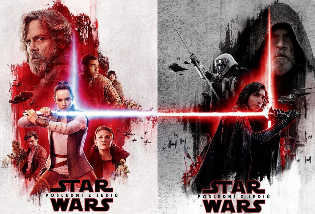 Carteles de Star Wars Episodio 8