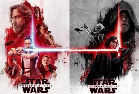 Carteles de Star Wars Episodio 8