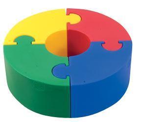 Puzzle Circle Sitter, divertido asiento para los peques