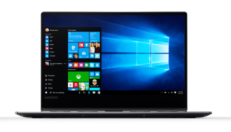 Yoga 910 Windows Convertible In Gunmetal