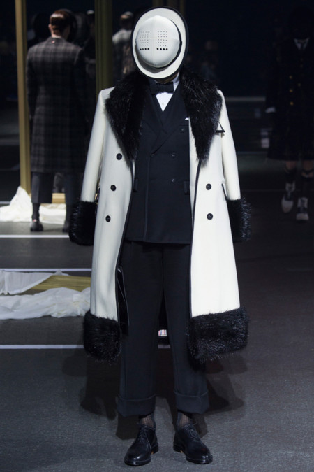 Thom Browne Fall Winter 2016 Paris Fashion Week 31