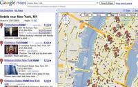 Precios de los hoteles en Google Maps