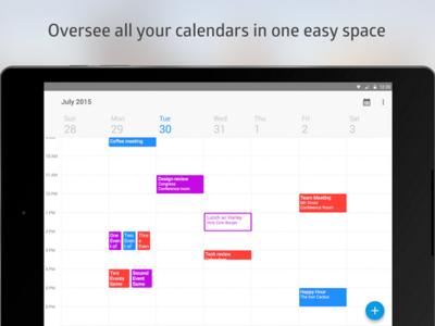 Boxer Calendar, el nuevo calendario que reemplazará al de Google en Cyanogen OS