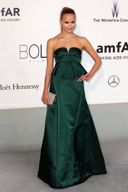 Natasha Poly amfar Cannes 2014