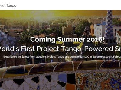 Project Tango en el MWC 2016, Lenovo y Google anuncian el primer smartphone listo en verano