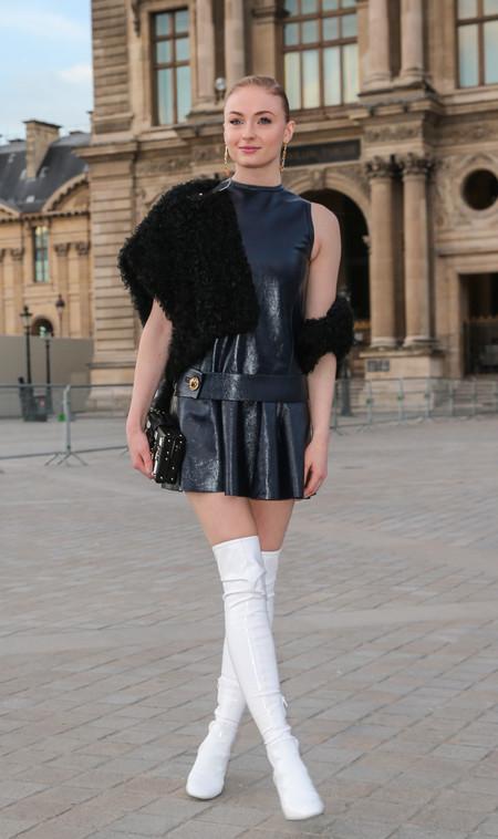 juego de tronos estilismo look alfombra roja actrices Sophie Turner