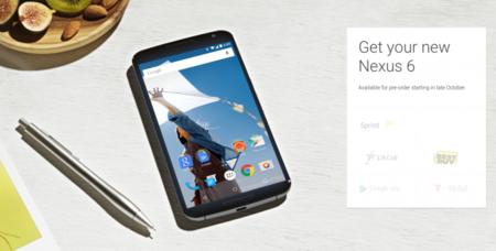 Nexus 6 con las operadoras