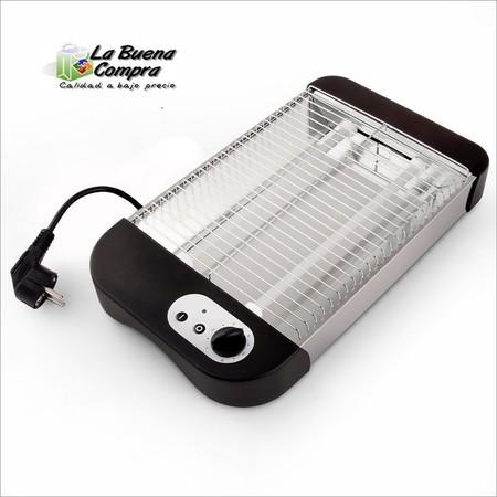 Tostadora eléctrica horizontal rebajada en eBay, ahora por sólo 17,50 euros y envío gratis