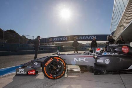 No tener un simulador es otra preocupación para Sauber