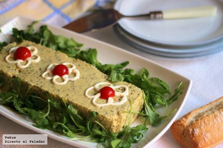 Mousse de calabacín, la receta ligera para compartir