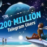 Telegram estrena versión y celebra su llega a los 200 millones de usuarios aunque sigue a la cola de la competencia