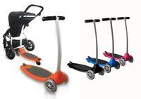 Mountain Buggy Freerider, plataforma para el carrito y patinete a la vez