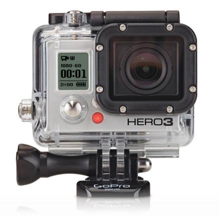 La nueva GoPro HERO 3: todo para grabar tus aventuras deportivas