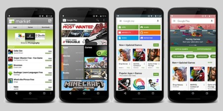 Google Play Store History