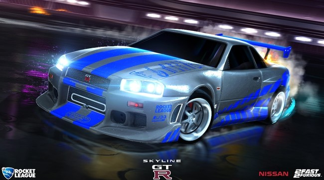 Rocket League Fast And Furious 02