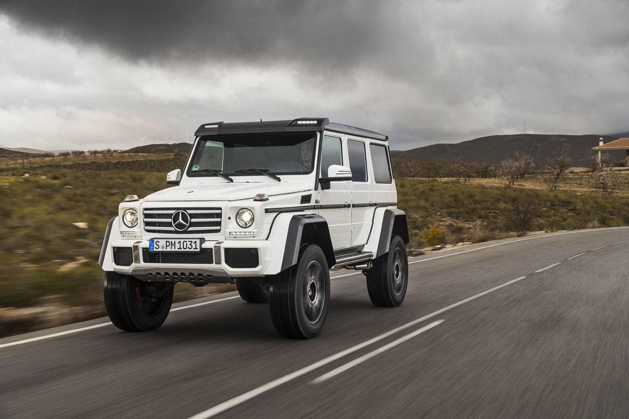 Foto de Mercedes-Benz G 500 4x4², toma de contacto (79/127)