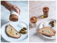 La aceitera roll-on, una nueva forma de preparar nuestras tostadas de pan con aceite
