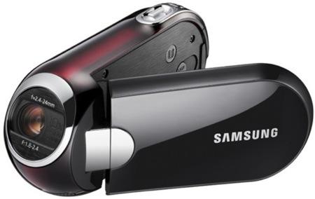 Samsung SMX-C14 y SMX-C10 también vienen con la lente inclinada