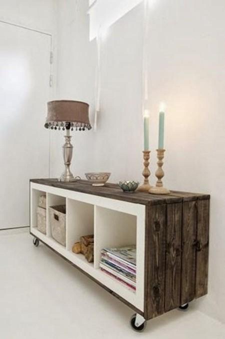 21 peque os recibidores que te ayudar n a inspirarte para - Consolas muebles ikea ...