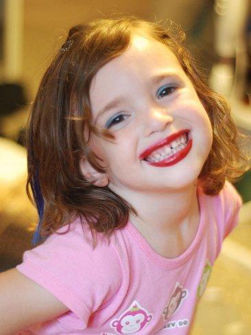 ¿Maquillaje de verdad para niñas de 8 años?