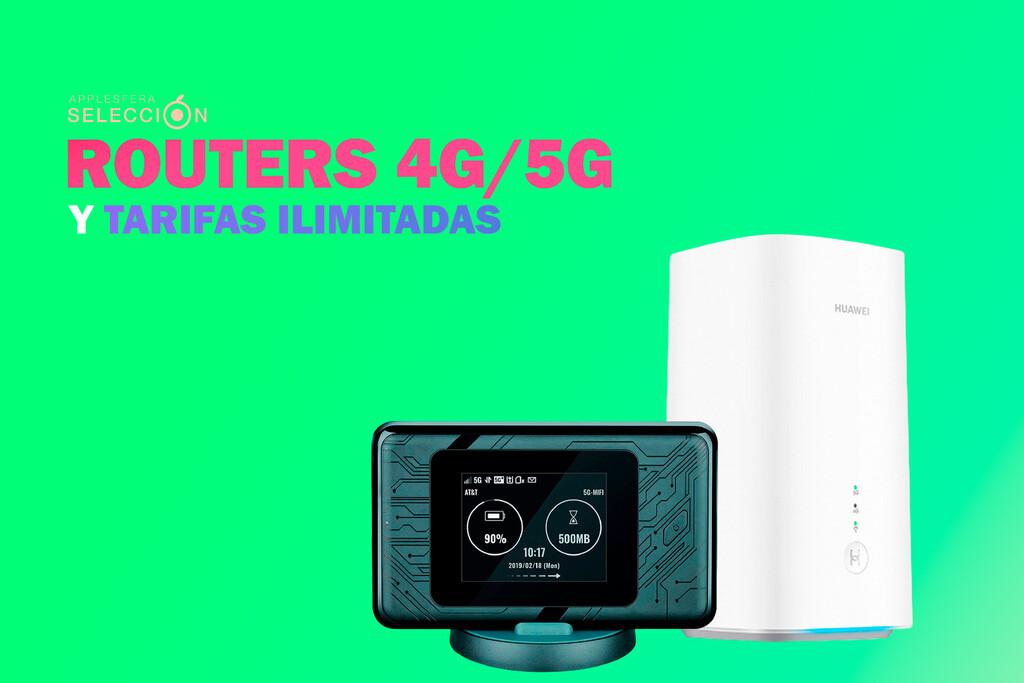 Que tus aparatos no pierdan la conexión a Internet en verano: routers Wi-Fi 4G/5G y tarifas de datos(info) ilimitados