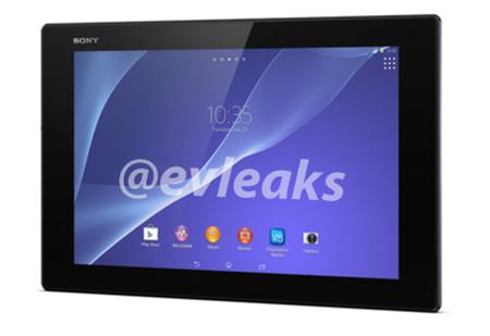 Se filtran imágenes e información del Xperia Z2 Tablet, el nuevo tablet de Sony