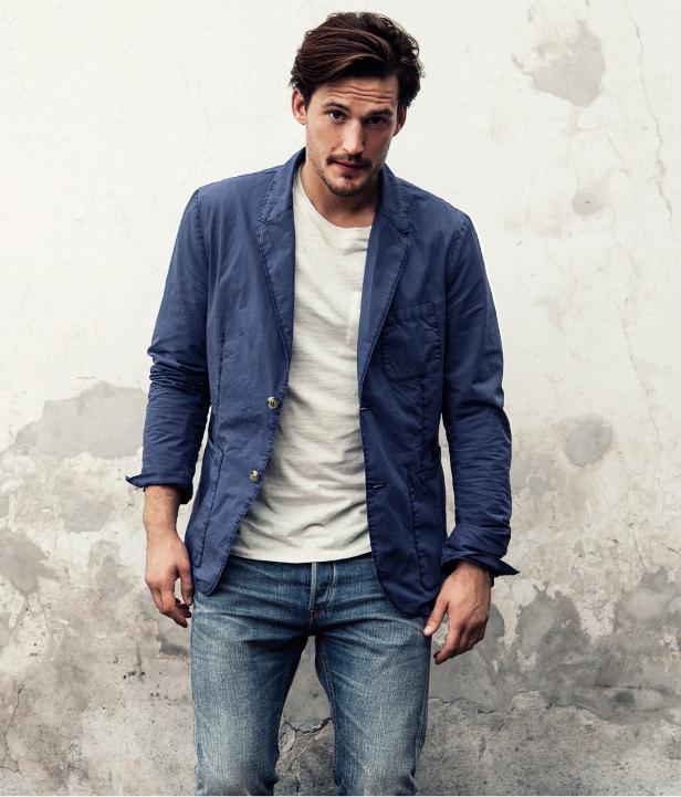 Americana azul H&M 2013