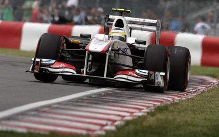 GP de Canadá F1 2011: difícil carrera para Pedro de la Rosa, cerca de los puntos