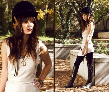 Rachel-Marie Jones estilo ecuestre