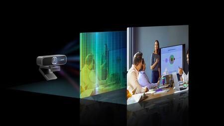 """Anker lanza la PowerConf C300, una webcam """"inteligente"""" con IA, micrófonos, sensor Full HD y reconocimiento facial"""