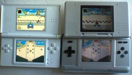 Nintendo DS Lite: brillante