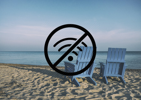 Siete consejos para sobrevivir sin conexión a Internet este verano