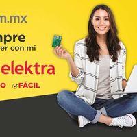 Elektra ya ofrece tramitar crédito en línea para comprar exclusivamente en su tienda, pero no al momento
