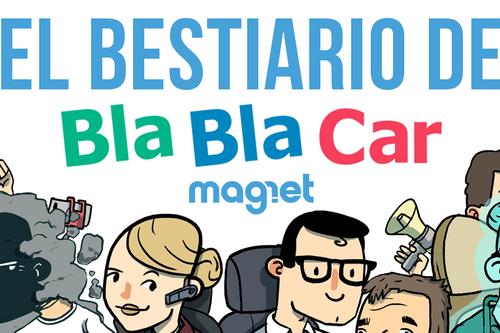 Bestiario de las criaturas que habitan BlaBlaCar