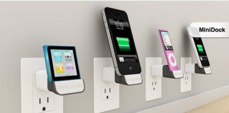 Un dock pensado para conectar directamente al cargador de nuestro iPhone