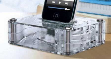 AirCurve un dock+amplificador pasivo para el iPhone