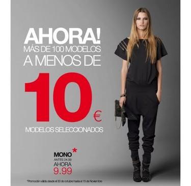 Blanco: más de 100 modelos a menos de 10€