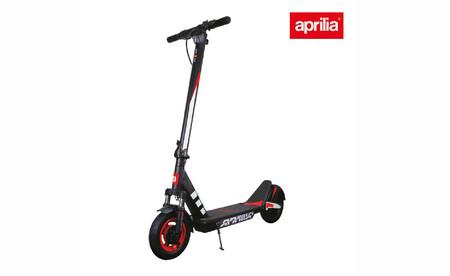 El nuevo patinete eléctrico de Aprilia viene con batería extraíble, motor sin escobillas y suspensión delantera, por 559 euros