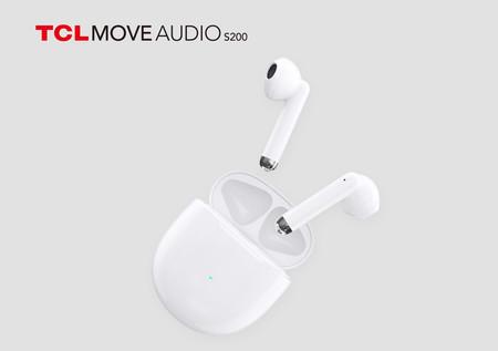 Nuevos auriculares Bluetooth de TCL: cancelación de ruido ENC, control táctil y 23 horas de autonomía