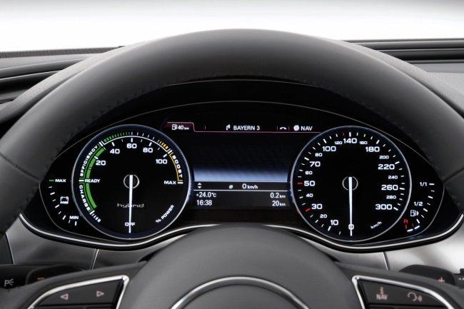 Audi A6 hybrid panel instrumentos