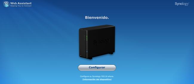 Instalación de Synology Diskstation DS116
