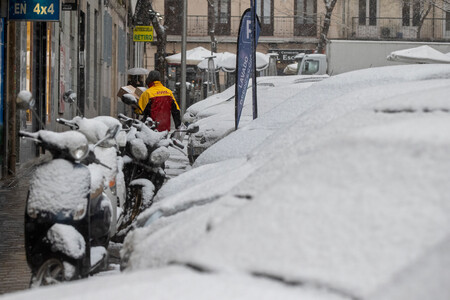 Nieve Madrid Buena