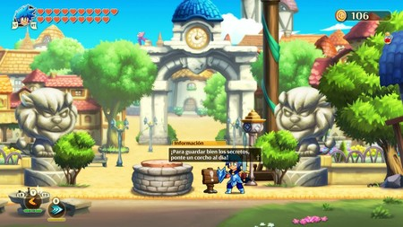 Guía de Monster Boy and the Cursed Kingdom: cómo acceder al nivel oculto Cyber Dungeon