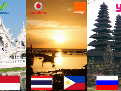 ¿Qué operador ofrece las tarifas de roaming más baratas para viajar a Asia u Oceanía?