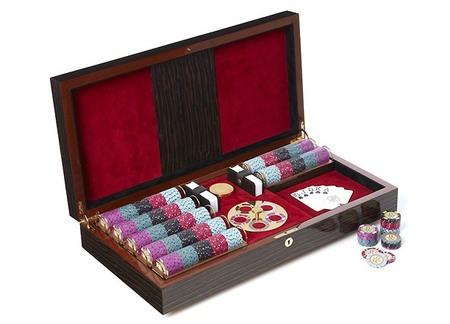 Mysterio Piece Unique, set de póker personalizable de Lancelot Lancaster White