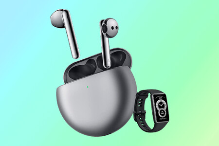 Actividad física y música sin cables con el pack de Huawei FreeBuds 4i y Huawei Band 6 por 119 euros en Amazon, su mínimo