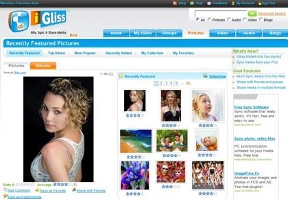 iGliss, creando y compartiendo nuestras colecciones multimedia