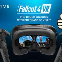 HTC Vive regalará a partir de hoy una copia de Fallout 4 VR en cada uno de sus packs